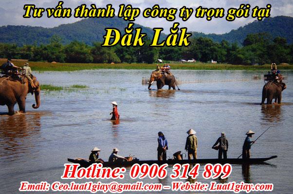 dịch vụ thanh lập công ty giá rẻ tại đắk lắk