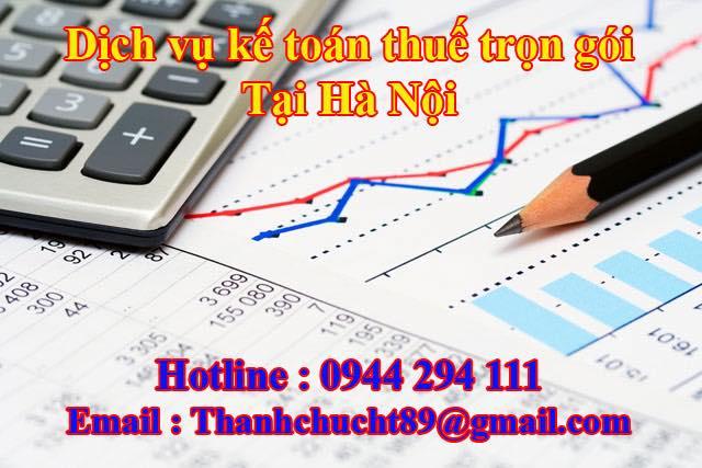 Dịch vụ kế toán thuế trọn gói giá rẻ