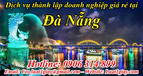 dịch vụ thành lập doanh nghiệp giá rẻ tại đà nẵng